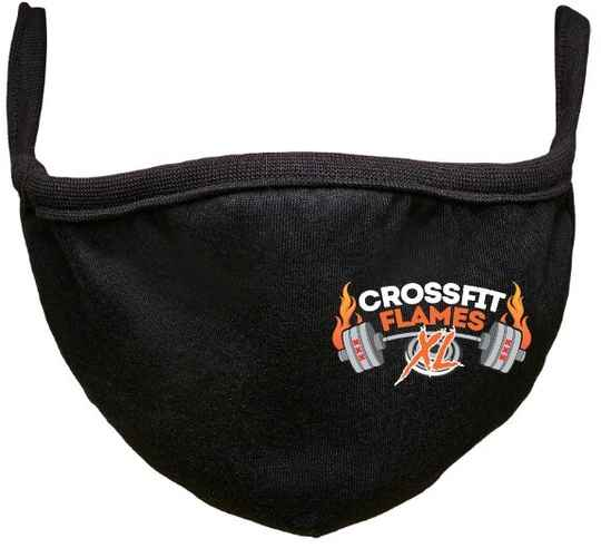 | CBD SPORTS | Mouth Masks | with your gym logo | Washable |