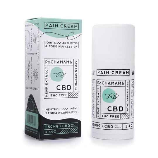 | PACHAMAMA | Pain Cream | 850 Mg CBD | 100 Ml