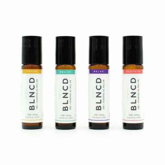 | BLNCD | CBD + Essential Oil Roll-On | Aroma Therapy | Discovery Kit |