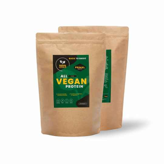 | PRIMAL HEALTH | All Vegan Protein Powder | 70% Eiwit | 900 Gram | THC 0%