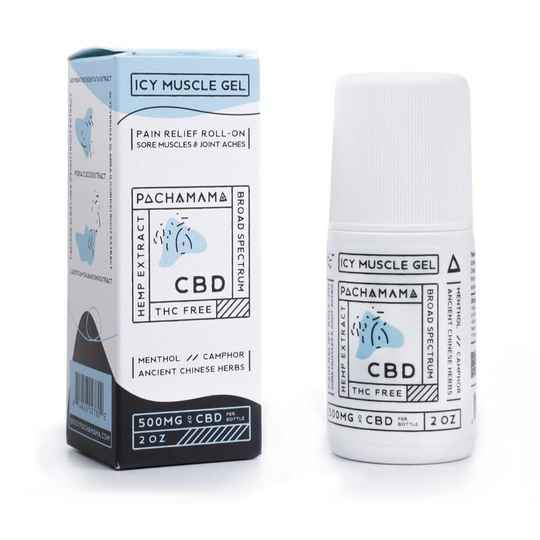 PACHAMAMA | IJskoude Spier Gel | Roll-On | 500 Mg CBD | 60 Ml