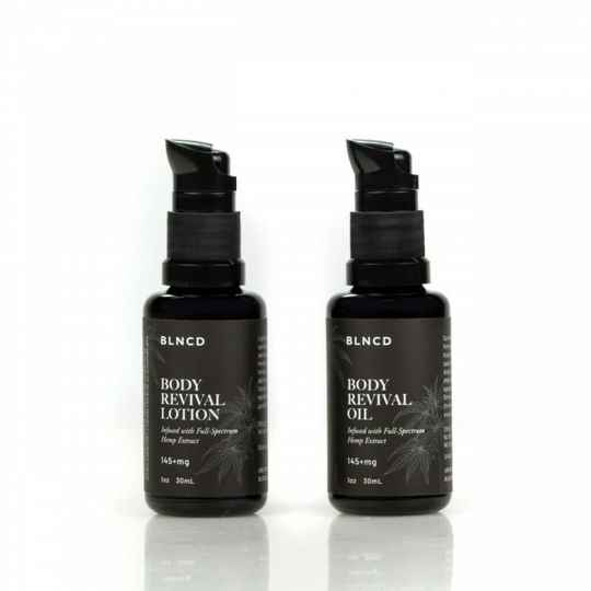 | BLNCD | Body oil and lotion | Discovery Set