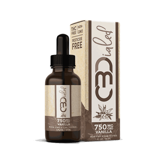 | CBDIALED | Vanilla CBD Wellness Tincture