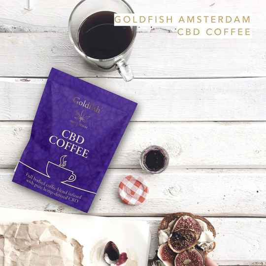| GOLDFISH AMSTERDAM | COFFEE | With HEMP CBD | THC 0%