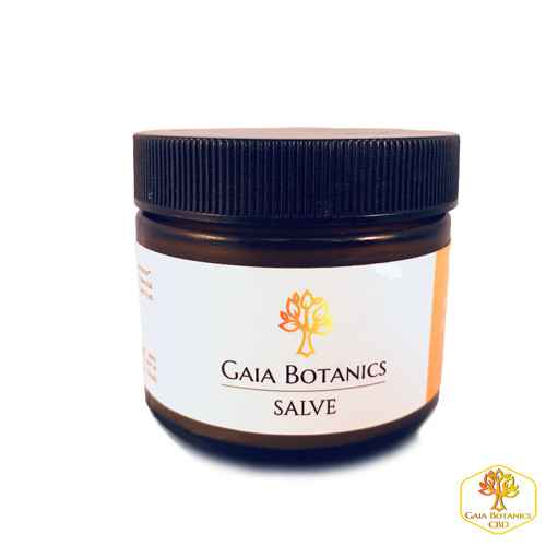 GAIA BOTANICS | Salve | 500 MG CBD | 30 Ml | THC 0%
