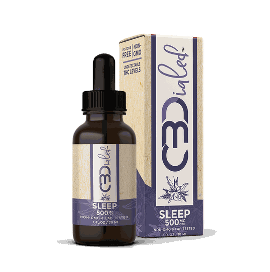 | CBDIALED | Sleep CBD Target Tincture | 500mg