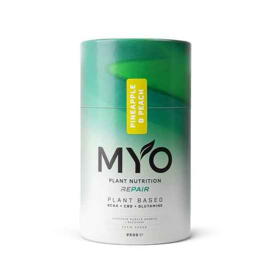 | MYO | Plant Based Nutrition | Repair | BCAA's CBD and Glutamine | CBD 10 Mg per serving | 250g | 6 days delivery time