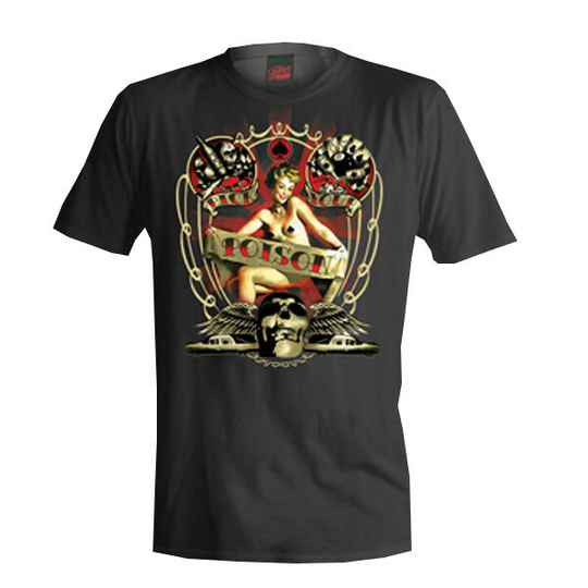 [29036]  Zwart t-shirt van Felon Clothing
