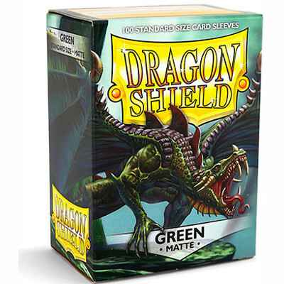 Sleeves Dragon Shield Matte - Standard - Green (100 stuks)