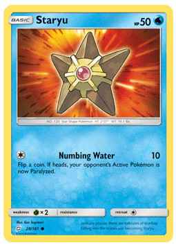 Staryu - 28/181 - S&M TeamUp - Common