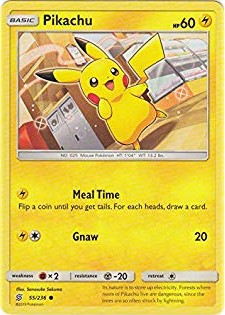 Pikachu -55/236- S&M Unified Minds - Common