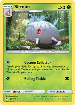 Silcoon 25/214 - S&M Lost Thunder - Common