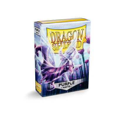 Sleeves Dragon Shield Matte Purple (60 stuks)