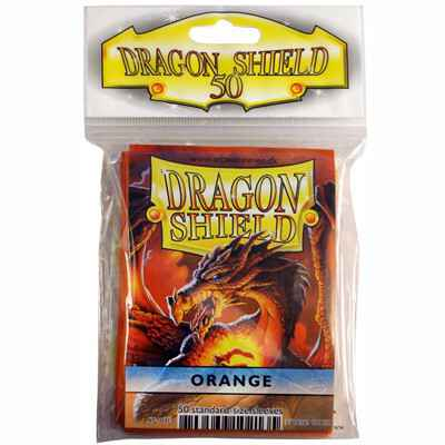 Sleeves Dragon Shield - Standard - Orange (50 stuks)