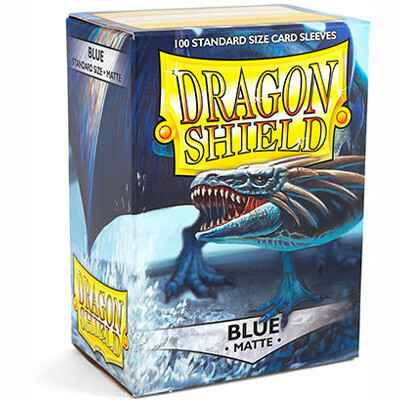 Sleeves Dragon Shield Matte - Standard - Blue (100 stuks)