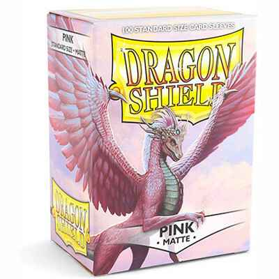 Sleeves Dragon Shield Matte - Standard - Pink (100 stuks)
