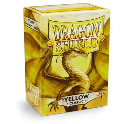 Sleeves Dragon Shield - Standard - Yellow (100 stuks)