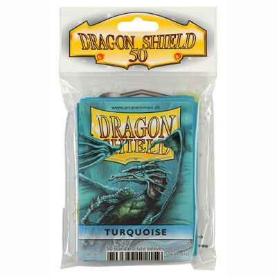 Sleeves Dragon Shield - Standard - Turquoise (50 stuks)