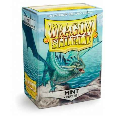 Sleeves Dragon Shield Matte - Mint (100 stuks)