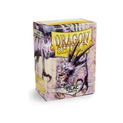 Sleeves Dragon Shield Matte Lila (100 stuks)