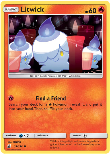 Litwick -27/236- S&M Unified Minds - Common