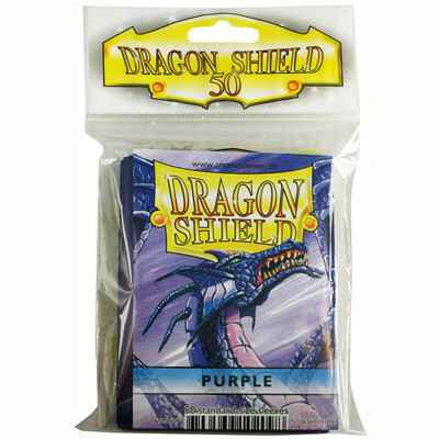 Sleeves Dragon Shield - Standard - Purple (50 stuks)