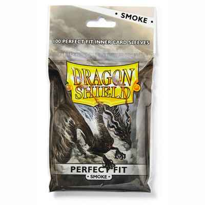 Sleeves Dragon Shield Perfect Fit - Standard - Clear/Smoke (100 stuks)