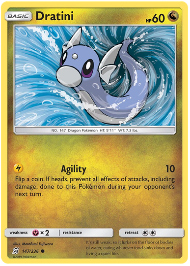 Dratini -147/236- S&M Unified Minds - Common