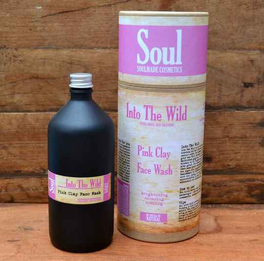 Into The Wild - Pink Clay Face Wash