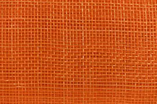 Sinamay - 096B - Deep Orange