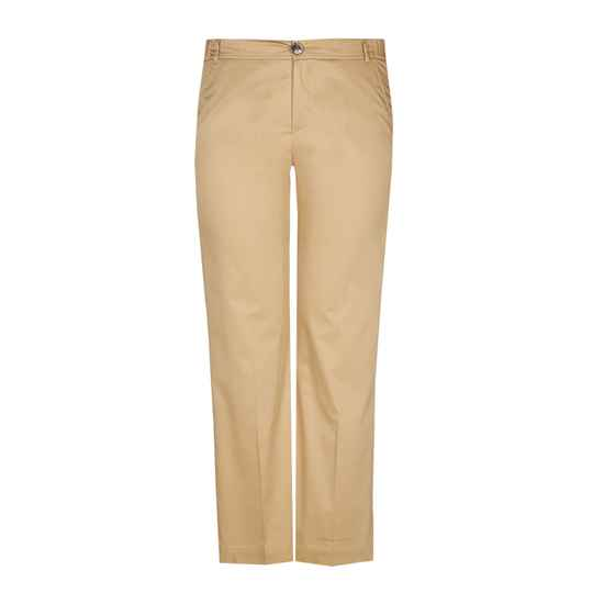 Xandres Gold straight fit broek X-PEA beige -  004707