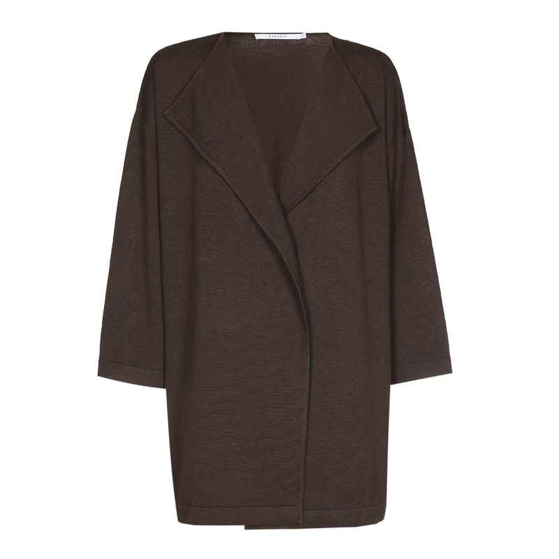 Xandres Gold losse gilet X-ALING coconut brown - 004803