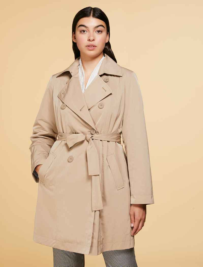 N.O.W. by Persona trench coat TARINA beige-  004568