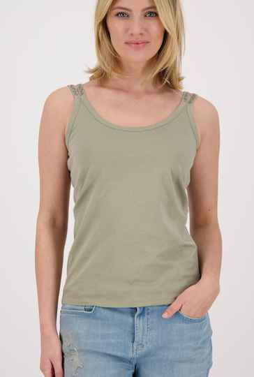 Monari topje  406528 dusty green  - 004680