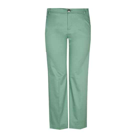 Xandres Gold straight fit broek X-PEA groen -  004708