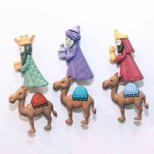Knoopjes We Three Kings - Dress it up