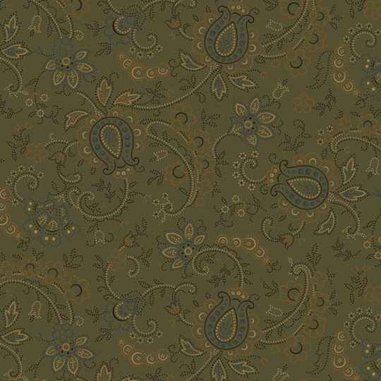Q283 - stof green Country Meadow by Pam Buda - Marcus Fabrics