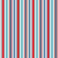 N3 - stof stripe, Sea Breeze by makower
