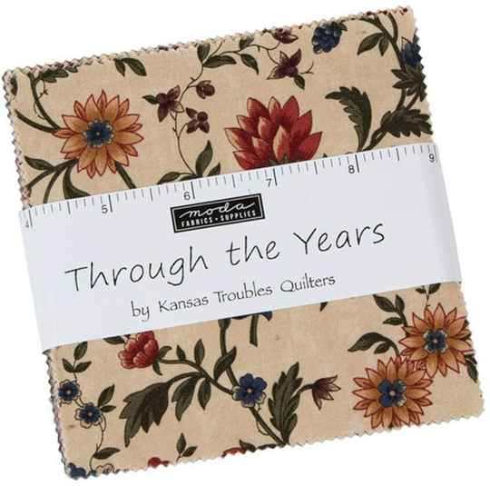 """Charm pack """"Trough the Years"""" Kansas Troubles"""