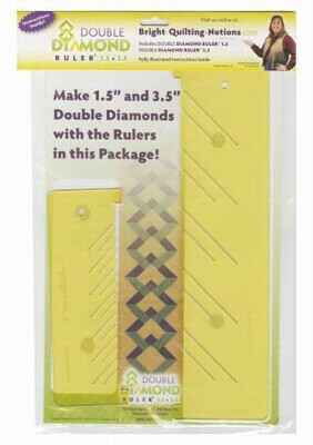 Double diamond ruler