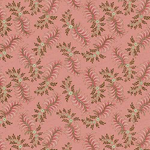 Q849 - stof Chesapeake Pink Feathering - Di Ford