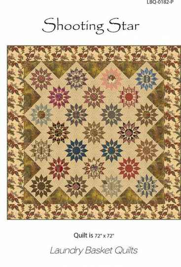Patroon Shooting Star, Edyta Sitar of Laundry Basket Quilts