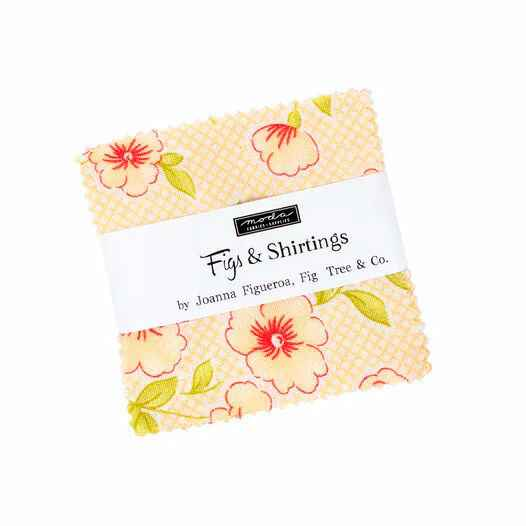 """Charm pack """"Fig & Shirtings"""" by Fig Tree & Co."""