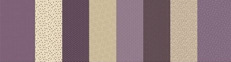 Q858 -  violet - 8 on a row by Marcus