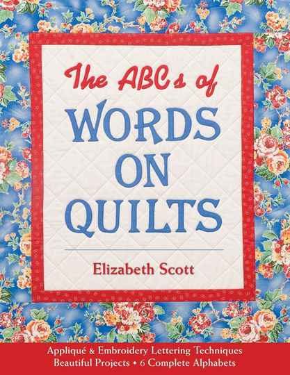 Boek The ABC of words on Quilts