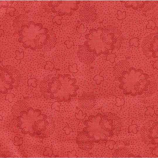 Q492 - stof two tone red - Dutch Heritage