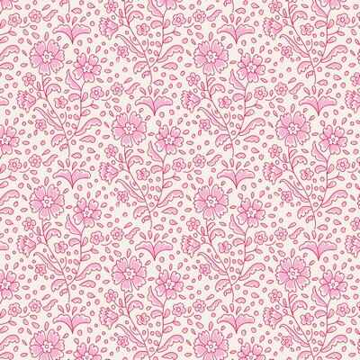 T17B - stof mila pink serie The Bird Pond Collection by Tilda