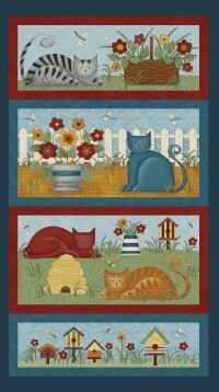 Panel Colorful Cats