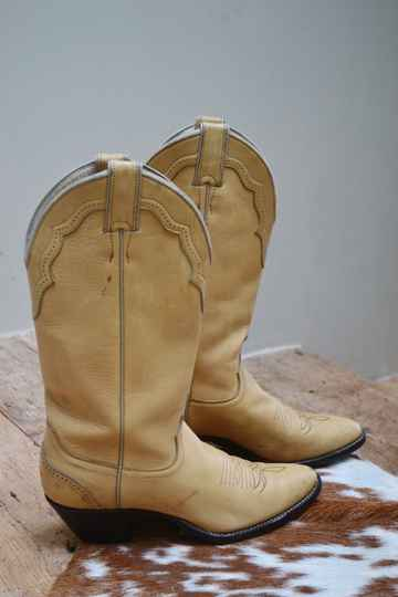 70s Justin western boots