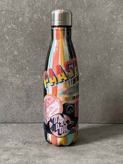 YOURS oldschool Paaspop style thermos petfles